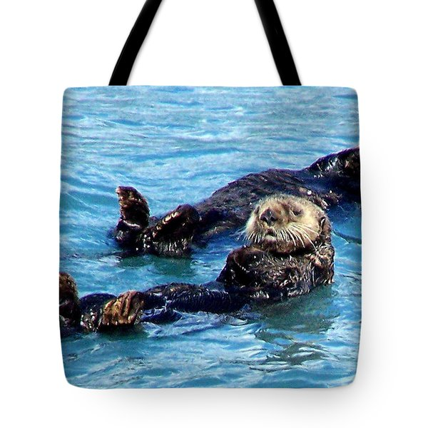 Tote Bag featuring the photograph Whatchu Looking At by Kathy  White