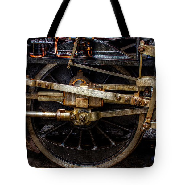 Wheel Tote Bag by Gert Lavsen
