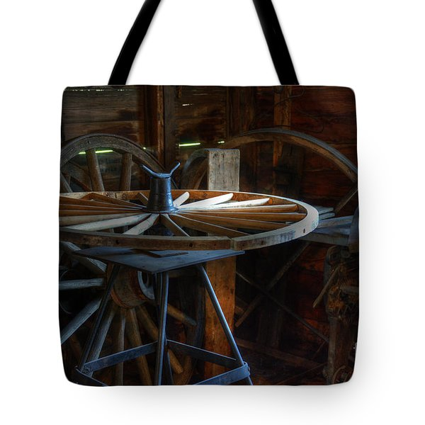 Wheeler Dealer Tote Bag by Bob Christopher