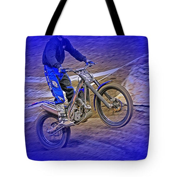 Wheeling Tote Bag by Karol Livote