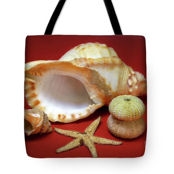 Whelks Tote Bag by Carlos Caetano