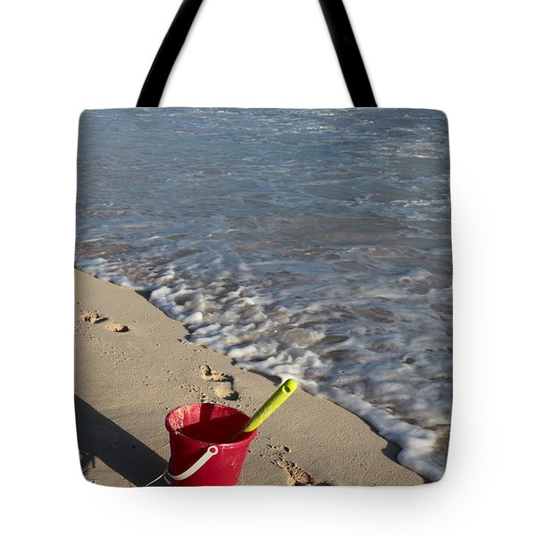 When Can We Go To The Beach? Tote Bag by Karen Lee Ensley