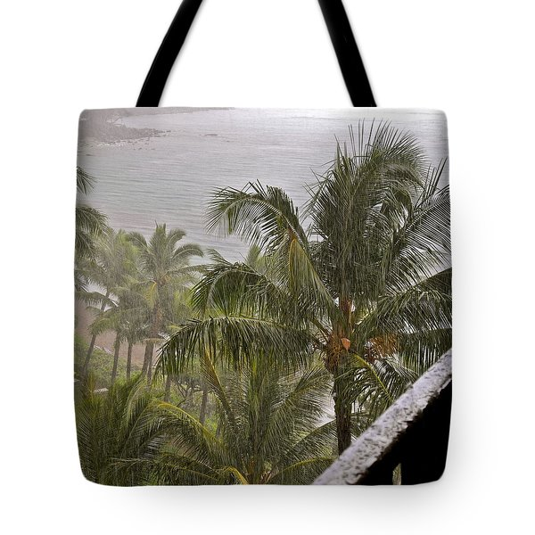 When It Rains It Pours Tote Bag by Kirsten Giving
