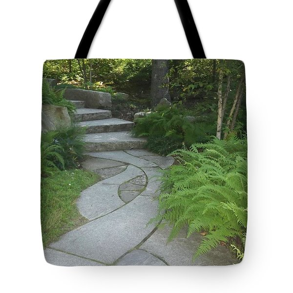 When Paths Intertwine Tote Bag