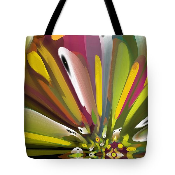 When Spring Turns To Fall Tote Bag by Alec Drake