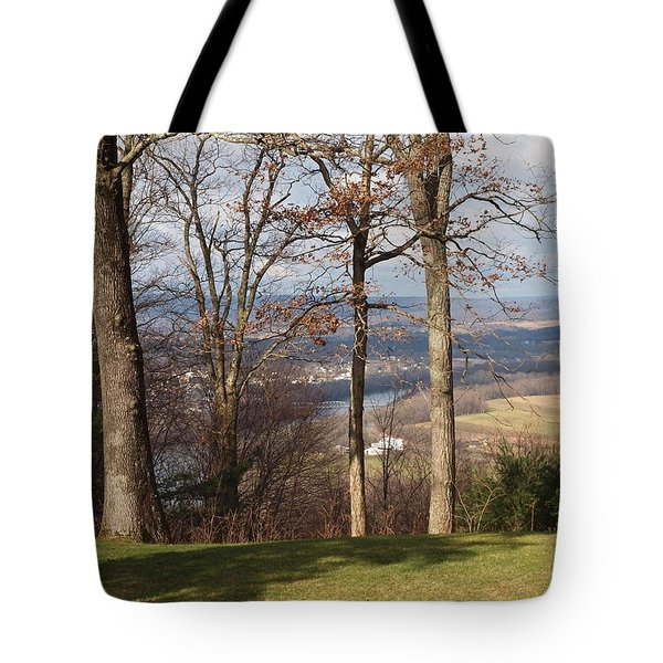 Where Are The Hills Tote Bag by Robert Margetts