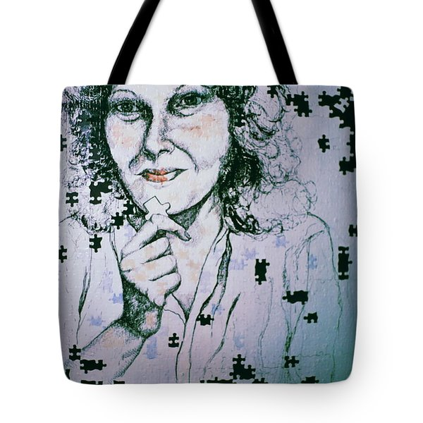 Where Does The Next Piece Go? Tote Bag by Rory Sagner