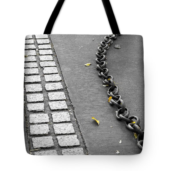 Where It Goes Tote Bag by Fran Riley