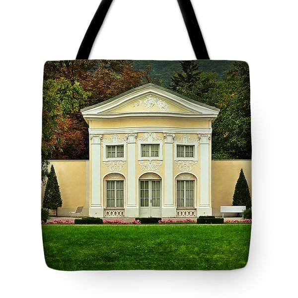 Where Lovers Meet Tote Bag by Mary Machare