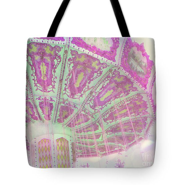 Tote Bag featuring the photograph Whimsy Swing by Traci Cottingham