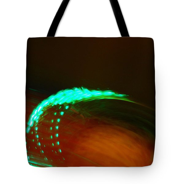 Whirligig Tote Bag by Michelle Calkins