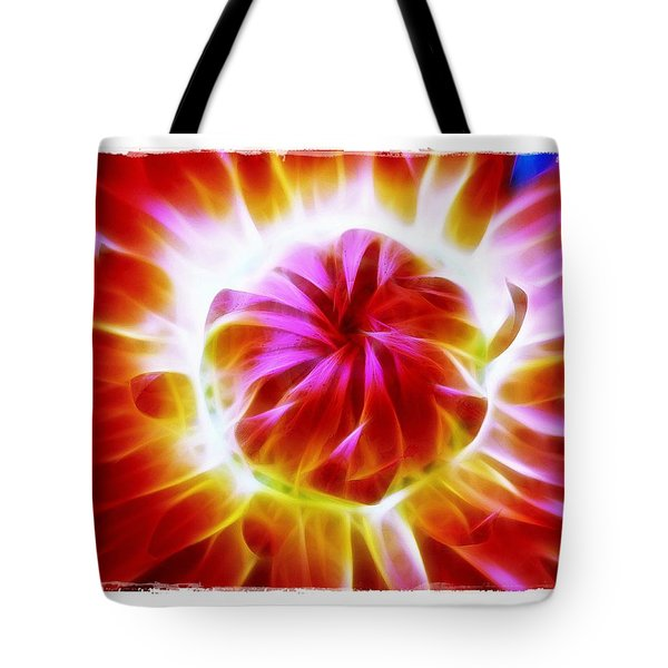 Whirling Tote Bag by Judi Bagwell
