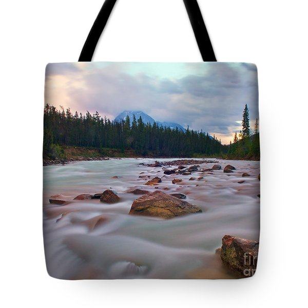 Whirlpool River Tote Bag by James Steinberg and Photo Researchers