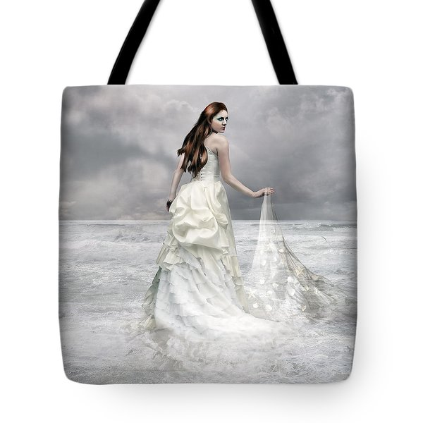 Whispered Waves Tote Bag by Mary Hood
