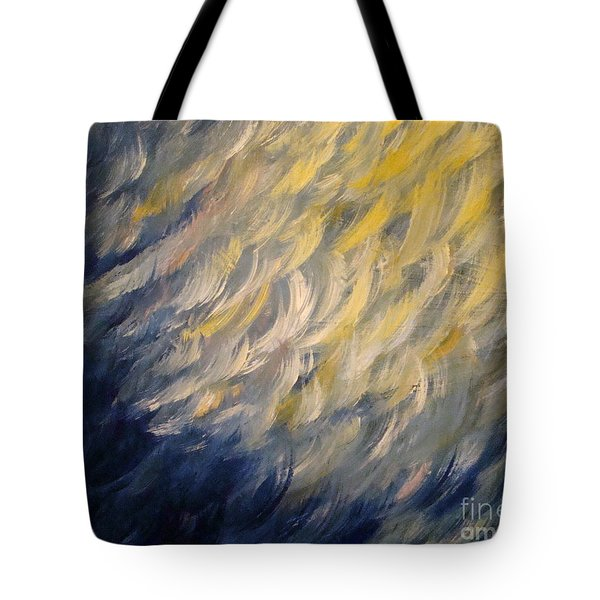 Whispered Wishes On A Starry Night Tote Bag