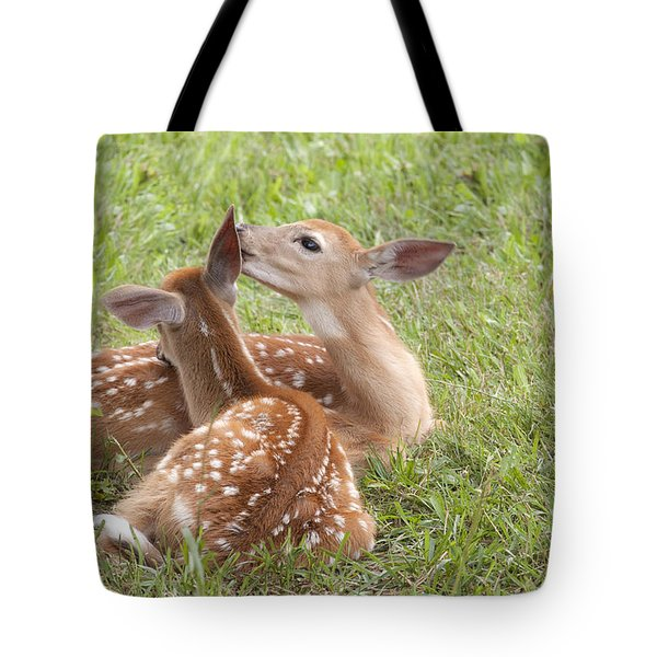 Whispering Fawns Tote Bag