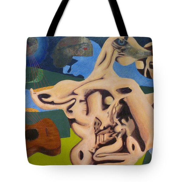 Whispering The Song Of The Moon Tote Bag by JC Armbruster