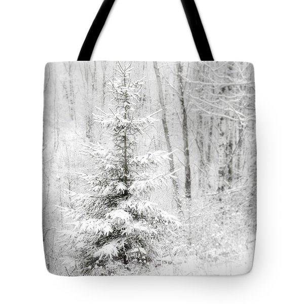 Whispers The Snow Tote Bag by Angie Rea