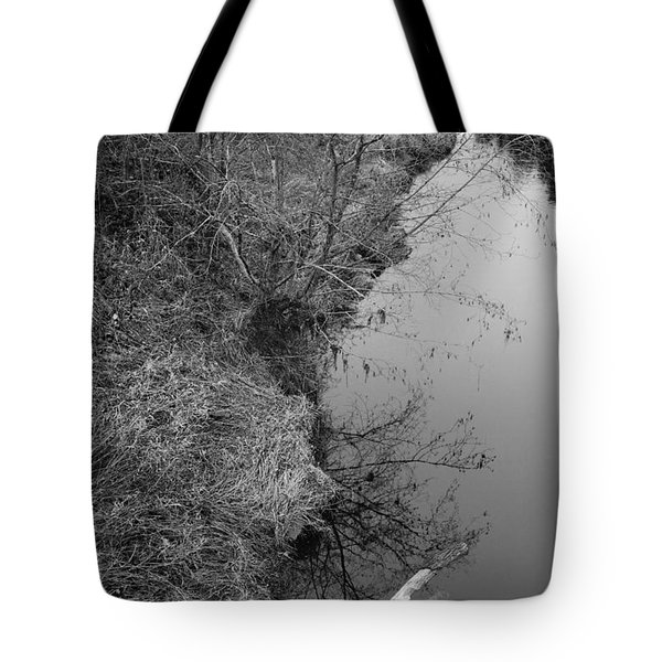 White Branch Riverside  Tote Bag by Kathleen Grace
