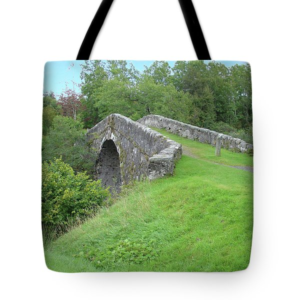 White Bridge Scotland Tote Bag