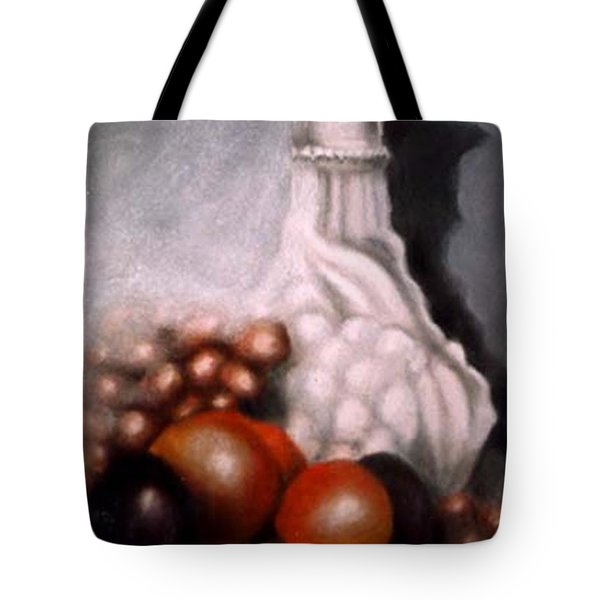 White Carafe Tote Bag