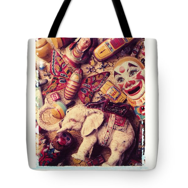 White Elephant Tote Bag by Garry Gay