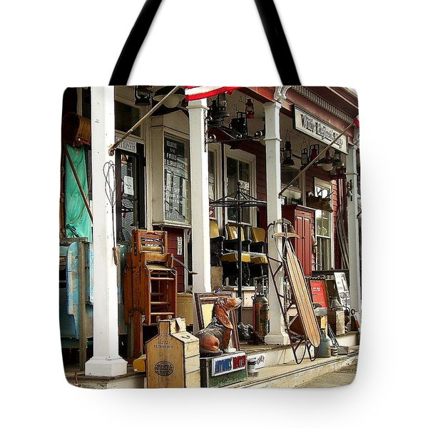 White Elephant Tote Bag
