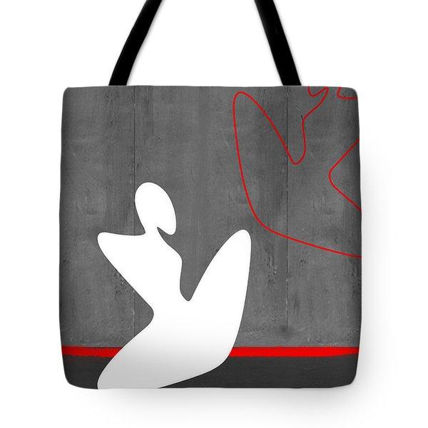 White Girl Tote Bag