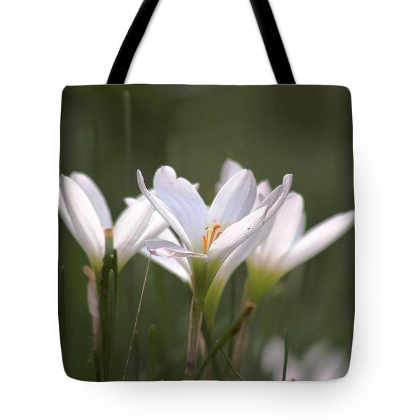 White Lily - Symbol Of Purity Tote Bag
