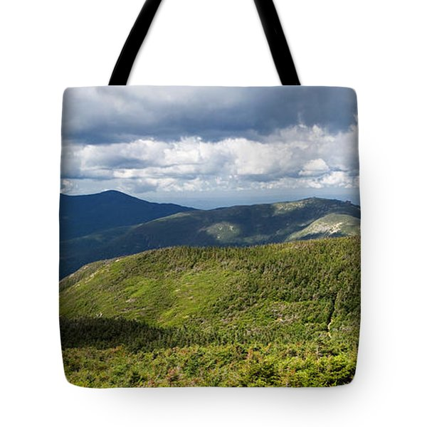 White Mountains New Hampshire Panorama Tote Bag by Stephanie McDowell