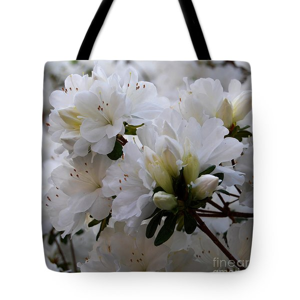 White On White Tote Bag