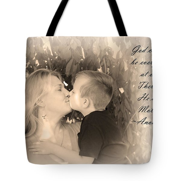 Tote Bag featuring the photograph Why He Made Mothers by Kelly Hazel