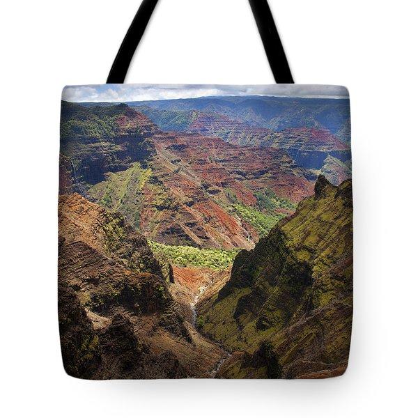 Wiamea Depth Tote Bag by Mike  Dawson