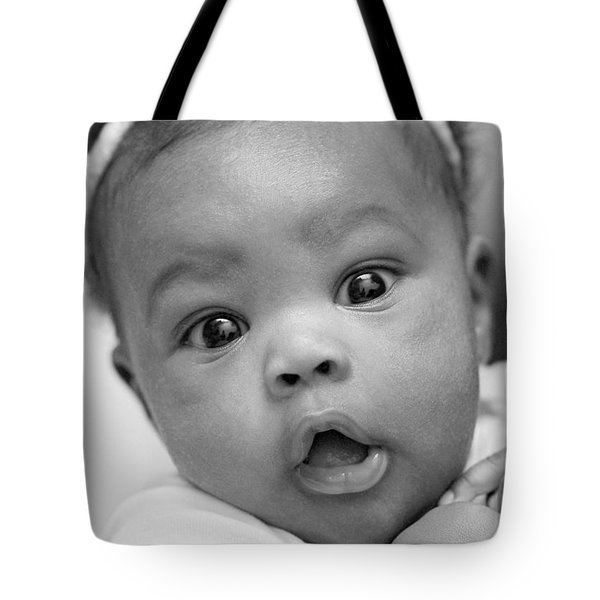 Wide Awake Tote Bag by Lisa Phillips