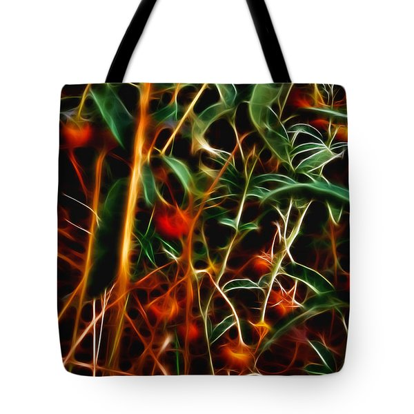 Wild Berries Tote Bag by Ellen Heaverlo