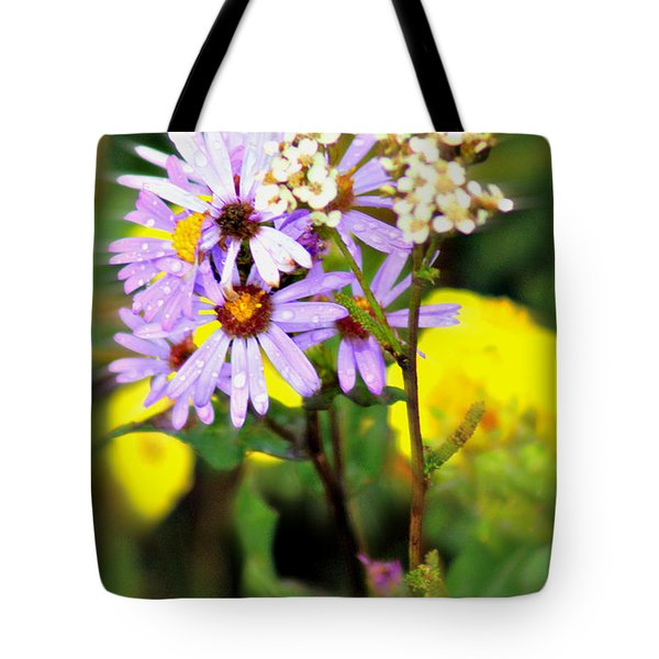 Wild Floral Tote Bag by Marty Koch
