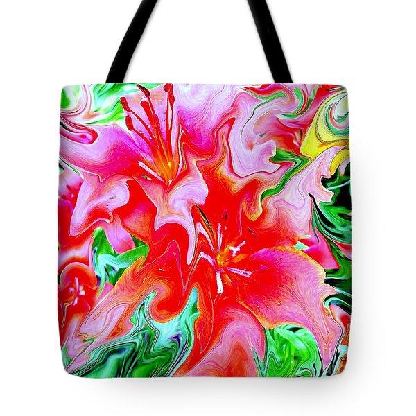 Wild Flowers Tote Bag