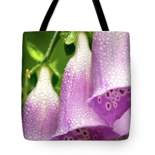 Tote Bag featuring the photograph Wild Foxglove by Albert Seger