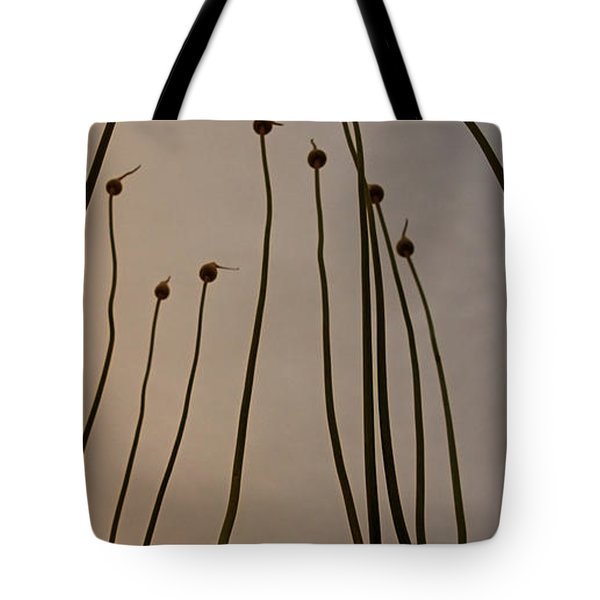 Wild Onions Tote Bag by Stelios Kleanthous