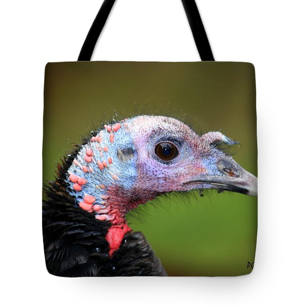 Tote Bag featuring the photograph Wild Turkey by Patrick Witz