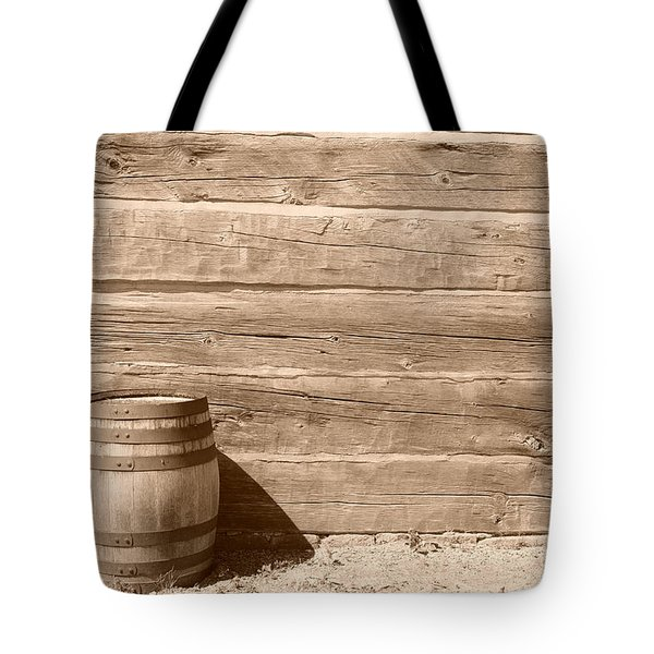 Tote Bag featuring the photograph Wild West by Joe  Ng