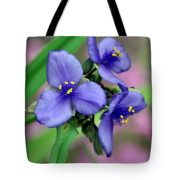 Wildflower Trilogy Tote Bag by Marty Koch