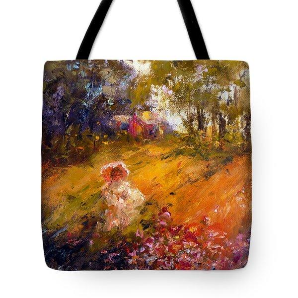 Wildflowers Tote Bag by Marie Green