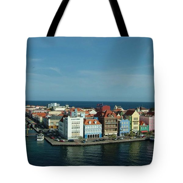 Willemstad Curacao Tote Bag