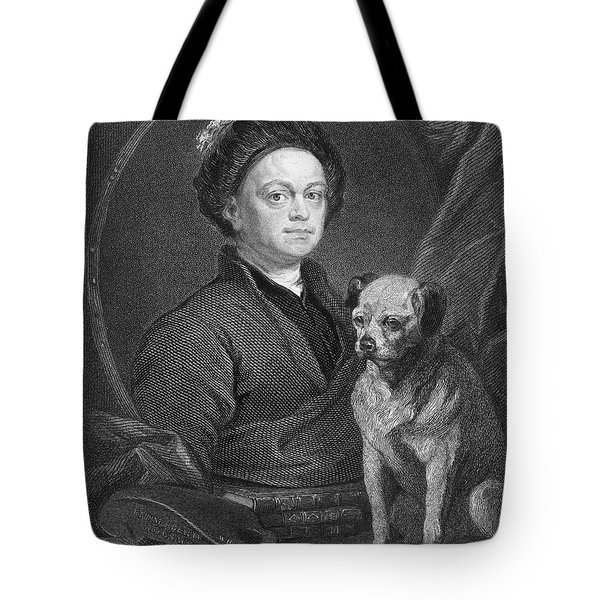 William Hogarth (1697-1764) Tote Bag by Granger