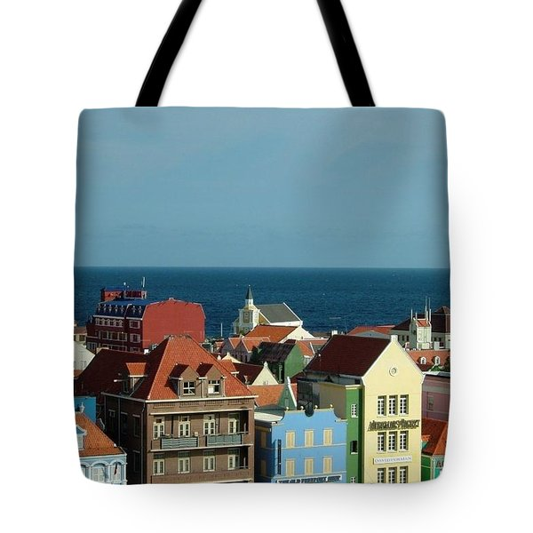 Williemstad Curacoa Tote Bag