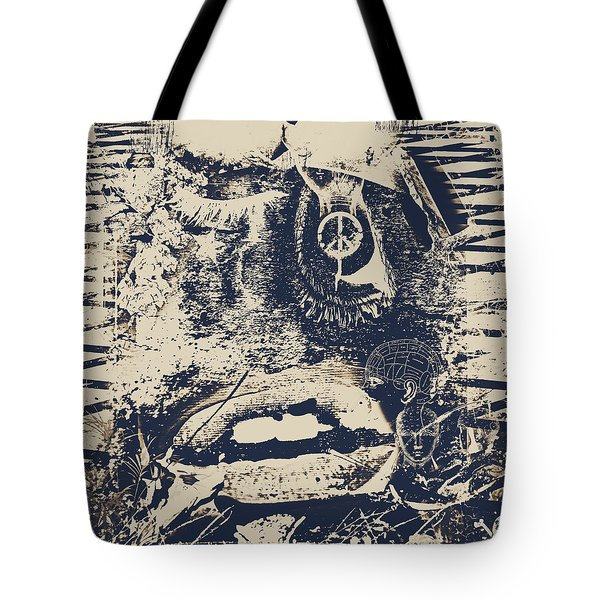 Willy The Smirk Two Tote Bag by Jerry Cordeiro