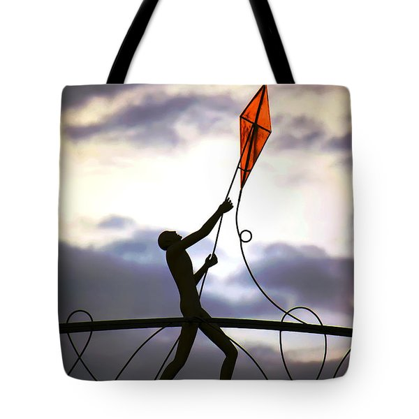 Tote Bag featuring the photograph Winchester Kite by KG Thienemann