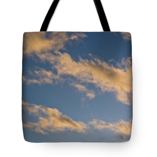 Wind Driven Clouds Tote Bag by Mick Anderson