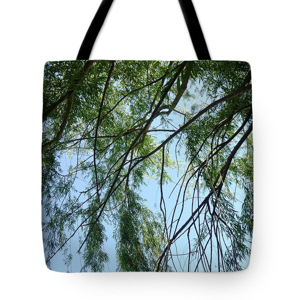 Wind In The Willow Tote Bag by Alys Caviness-Gober